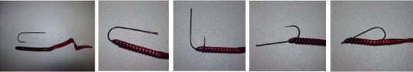 rigging a plastic worm