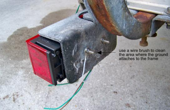 boat trailer lights are easy to understand and change
