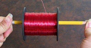 spooling a reel